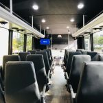 Ford F-550 29 passenger charter shuttle coach bus for sale - Gas 6