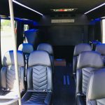 Ford E-450 13 passenger charter shuttle coach bus for sale - Gas 7