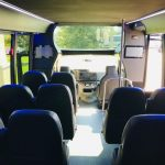Ford E-450 13 passenger charter shuttle coach bus for sale - Gas 8