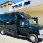 Ford E-450 13 passenger charter shuttle coach bus for sale - Gas 1