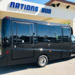 Ford E-450 13 passenger charter shuttle coach bus for sale - Gas 2