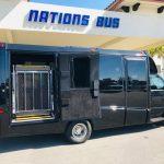 Ford E-450 13 passenger charter shuttle coach bus for sale - Gas 3