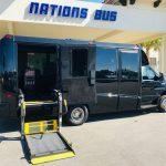 Ford E-450 13 passenger charter shuttle coach bus for sale - Gas 4