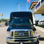 Ford E-450 13 passenger charter shuttle coach bus for sale - Gas 5