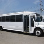 International  37 passenger charter shuttle coach bus for sale - Diesel 1