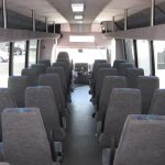 International  37 passenger charter shuttle coach bus for sale - Diesel 6
