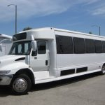 International  37 passenger charter shuttle coach bus for sale - Diesel 3