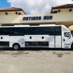 Freightliner M2 40 passenger charter shuttle coach bus for sale - Diesel 3
