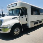 International 3200 33 passenger charter shuttle coach bus for sale - Diesel 8