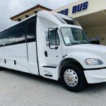 Freightliner M2 40 passenger charter shuttle coach bus for sale - Diesel 1