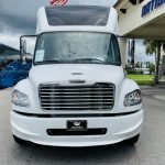 Freightliner M2 40 passenger charter shuttle coach bus for sale - Diesel 8