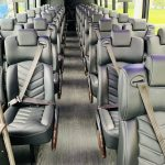 Freightliner M2 40 passenger charter shuttle coach bus for sale - Diesel 9