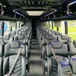 Freightliner M2 40 passenger charter shuttle coach bus for sale - Diesel 10