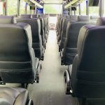 Freightliner M2 40 passenger charter shuttle coach bus for sale - Diesel 13