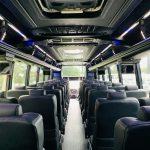 Freightliner M2 40 passenger charter shuttle coach bus for sale - Diesel 14
