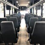 Freightliner M2 37 passenger charter shuttle coach bus for sale - Diesel 7