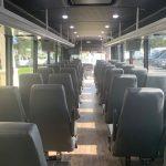 Freightliner M2 41 passenger charter shuttle coach bus for sale - Diesel 7