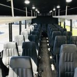 Freightliner S2C 37 passenger charter shuttle coach bus for sale - Diesel 5