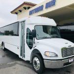 Freightliner S2C 37 passenger charter shuttle coach bus for sale - Diesel 1