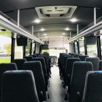 Freightliner S2C 37 passenger charter shuttle coach bus for sale - Diesel 6
