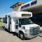 Ford E450 20 passenger charter shuttle coach bus for sale - Gas 1