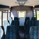 Ford E350 14 passenger charter shuttle coach bus for sale - Gas 5