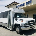 Chevy C4500 25 passenger charter shuttle coach bus for sale - Diesel 1