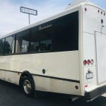 Chevy C4500 25 passenger charter shuttle coach bus for sale - Diesel 6