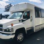 Chevy C4500 25 passenger charter shuttle coach bus for sale - Diesel 8