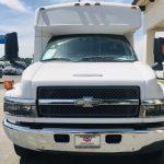 Chevy C4500 25 passenger charter shuttle coach bus for sale - Diesel 9