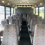 Chevy C4500 25 passenger charter shuttle coach bus for sale - Diesel 10