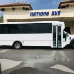 Ford F550 29 passenger charter shuttle coach bus for sale - Gas 2