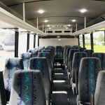 Ford F550 29 passenger charter shuttle coach bus for sale - Gas 15