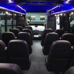 Ford F550 27 passenger charter shuttle coach bus for sale - Diesel 7