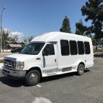 Ford E350 8 passenger charter shuttle coach bus for sale - Gas 3