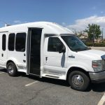 Ford E350 8 passenger charter shuttle coach bus for sale - Gas 1