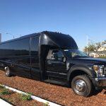 Ford F550 27 passenger charter shuttle coach bus for sale - Diesel 1