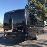 Ford F550 27 passenger charter shuttle coach bus for sale - Diesel 4