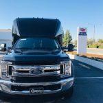 Ford F550 27 passenger charter shuttle coach bus for sale - Diesel 2