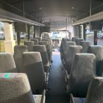 Freightliner M2 33 passenger charter shuttle coach bus for sale - Diesel 8