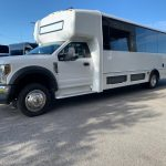 Ford F550 29 passenger charter shuttle coach bus for sale - Gas 3