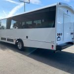 Ford F550 29 passenger charter shuttle coach bus for sale - Gas 4