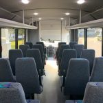 Ford F550 29 passenger charter shuttle coach bus for sale - Gas 7