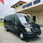 Mercedes 3500 14 passenger charter shuttle coach bus for sale - Diesel 1