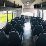 Chevy C5500 32 passenger charter shuttle coach bus for sale - Diesel 6