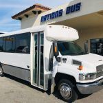 Chevy C4500 25 passenger charter shuttle coach bus for sale - Diesel 1