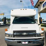 Chevy C4500 25 passenger charter shuttle coach bus for sale - Diesel 9
