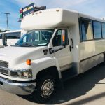 Chevy C4500 25 passenger charter shuttle coach bus for sale - Diesel 8
