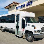 Chevy C5500 28 passenger charter shuttle coach bus for sale - Diesel 1