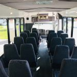 Chevy C5500 28 passenger charter shuttle coach bus for sale - Diesel 7